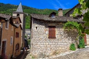 IMG_1906241336_Lozère (48)  Sainte Enimie Gorges du Tarn cloche