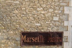 IMG_18068916_VAUCLUSE (84)  BONNIEUX FAçADE DE MAISON DE VILLAG
