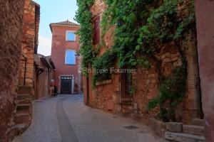 IMG_18071960_Vaucluse (84)  Roussillon Le Village Maisons ocrée
