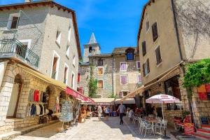 IMG_1906241355_Lozère (48)  Sainte Enimie Gorges du Tarn commer