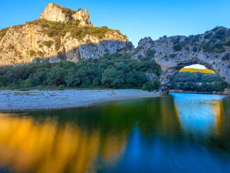 Ardeche (07)_Vallon-Pont-d'Arc_Reserve Naturelle des Gorges de l'Ardèche_Le-Pont-d'Arc_