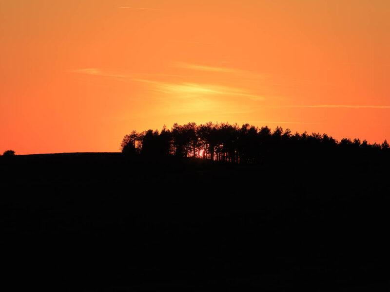 IMG_19088333_Lozère (48) Fraissinet de Fourques Causse Mejean Gally Soleil Couchant sur le Causse . Lozère (48) Fraissinet Fourques Causse Mejean Gally Sun Sunset on the Causse _