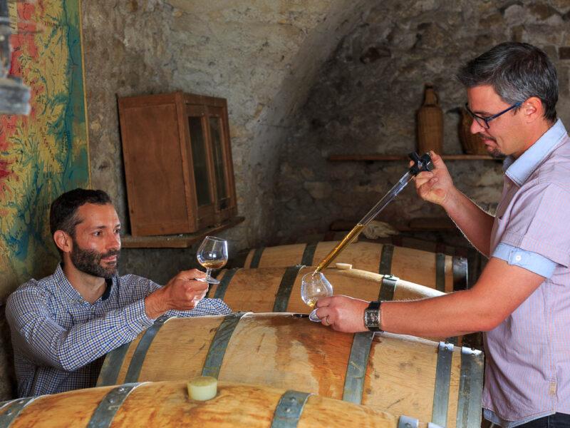 IMG_1906101166_Ardèche (07) Saint Martin d'Ardèche Soutirage Chais de vieillissement, le whisky du Tanargue._